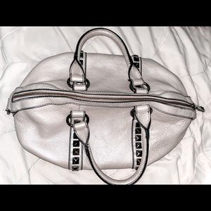 Kenneth Cole purse! Silver and all buckled.